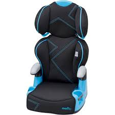 booster seat evenflo amp high back booster car seat blue angles walmart com