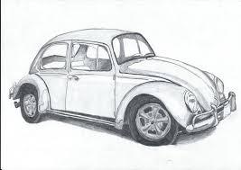 vw bug drawing by slidergirl on deviantart