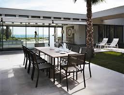 table de jardin fermob soldes table costa extensible fer forge d extérieur alu fermob