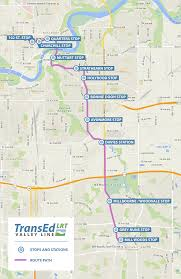 Edmonton Canada Map by Edmonton Breaks Ground On New Valley Line Lrt Skyrisecities