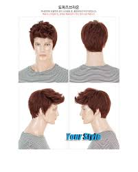 aliexpress com buy synthetic short boy pixie cut wig hairstyles