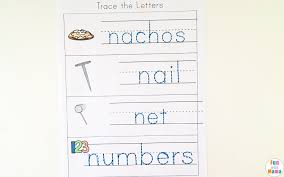 letter n preschool printable pack fun with mama