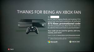 xbox one consoles video games target dailytech targeted offer gives select xbox 360 owners 75 promo