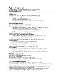 Assistant Preschool Teacher Resume Teacher Resume Examples Substitute Summary Kindergarten Assistant