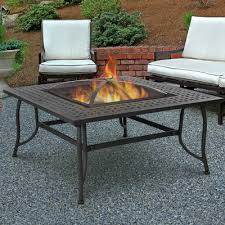 wood burning fire table chelsea wood burning fire pit table by real flame goodglance