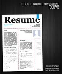 Free Resume Template Builder Cv Templates Creative 22 Free Creative Resume Template Design