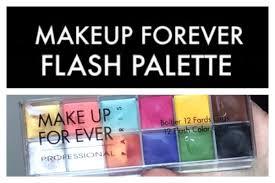 makeup flash palette demo foundation contouring