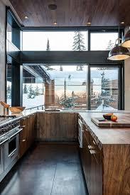 modern wood kitchen design modern rustic mountain modern mountains and modern