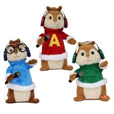 shop alvin and the chipmunks animatronic musical chipmunks at