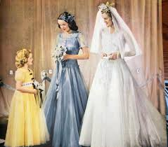 history of the wedding dress vintage inspired wedding dresses by decade