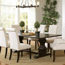 coaster parkins double pedestal dining table in rustic espresso