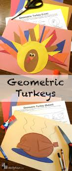 geometric turkeys live and baked with free downloads mathfour