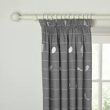 Curtain Wire Room Divider Buy John Lewis Bird On A Wire Lined Pencil Pleat Curtains Steel