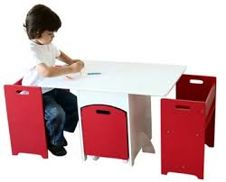 kids table with storage red and white used kids table and chairs with toy storage box buy