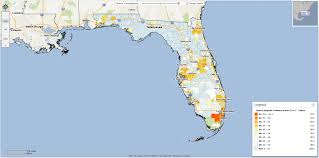 Florida Zip Code Map by Hispanic Democratic Primary Voters Who Are They Really Neustar Blog
