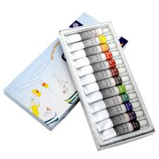korean memory 12 colors professional artists stained glass paint