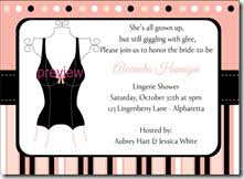 Lingerie Party Invitations Lingerie Shower Invitations Archives