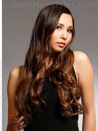 hair highlights bottom brown hair with caramel highlights at the bottom trendy