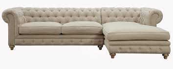 Chesterfield Sofa With Chaise by Amazon Com Tov Furniture The Oxford Collection Modern Fabric