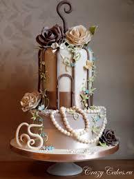8 chic chocolate wedding cakes