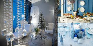 Blue Christmas Theme Decorations by Holiday Parties With A Twist Winter Decoration And Winter
