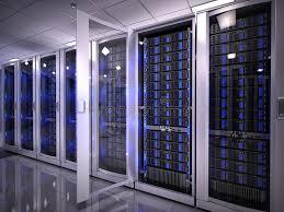 data center servers servers in data center stock illustration illustration of computer