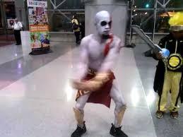 Kratos Halloween Costume Kratos Dance York Comic 2014 Thursday October 9 God