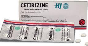 Obat Cetirizine 10 Mg manfaat obat cetirizine 2hci manfaat sehat alamis