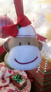 53 best christmas theme sock monkey images on pinterest sock