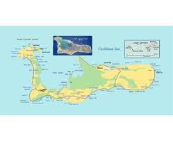 Map Of Caribbean Island by Maps Of Cayman Islands Detailed Map Of Cayman Islands In English