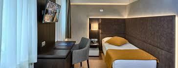 single room with single bed hotel como 4 stars hotel lake