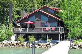 zillow lake tahoe north tahoe cabins north lake tahoe lakefront vacation rental with