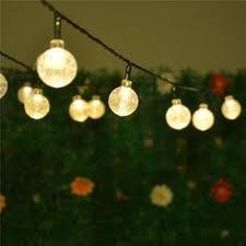 led solar powered string lights outdoor solar lighting
