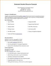 Free Sample Resumes For Freshers Resume For Graduate Students Freshers Create Professional