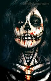 Halloween Makeup Dia De Los Muertos 664 Best Crazy Creepy Makeup Images On Pinterest Fx Makeup
