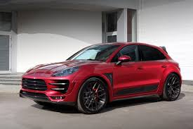 porsche dark red tuning porsche macan turbo ursa topcar