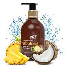 buy wow fabulous foaming body wash no parabens u0026 no sulphates