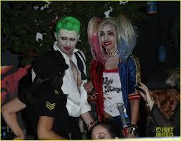 matthew morrison channels jared leto u0027s joker for halloween 2016