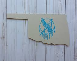 oklahoma wood oklahoma sign etsy
