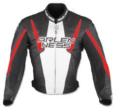 motocross leather jacket clearance sale arlen ness accelerate leather jacket black red