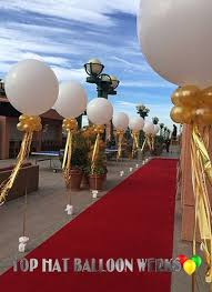 balloon delivery grand rapids mi big balloon decor in gold starry nights theme balloon decor