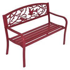 Cast Iron Loveseat Unbranded Cast Iron Patio U0026 Garden Benches Ebay