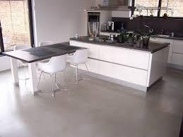 béton ciré sur carrelage cuisine luxury beton cire sol cuisine