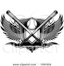 royalty free rf clipart of baseball logos illustrations vector