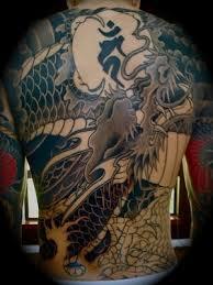 tattoo dragon full back full back grey ink dragon tattoo