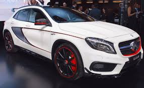 examining closer the features of the mercedes gla 45 amg 4matic