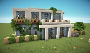 unique modern mansion floor plans minecraft with modern house