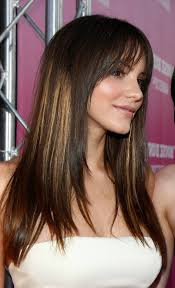 easy ways to style long straight hair