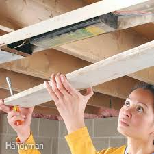 fluorescent light starter replacement how to replace fluorescent lights ballast family handyman