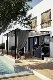 Curtains For Pergola 33 Ideas For The Garden With Curtains U2013 The Summer Recreation Area